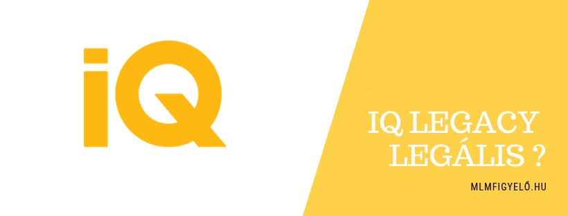 Az IQ Legacy legális MLM üzlet az USA-ban és a világon?