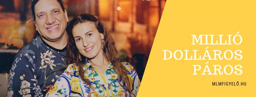 Igor Alberts és Andreea Cimbala 1,2 millió dollárt keresnek havonta a Dagcoinal
