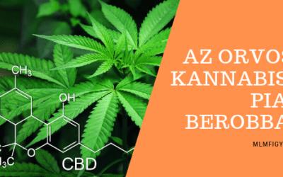 10 éven belül az Orvosi Kannabisz (CBD) termékek piaca átlépi a 100 milliárd dollárt
