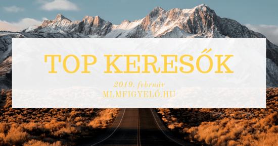 TOP keresők – 2019. február