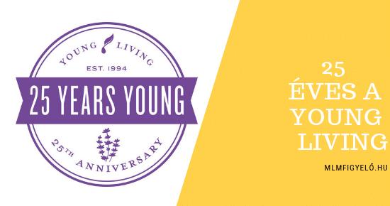 A Young Living 25. születésnapját ünnepelte