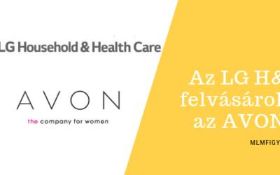 Az AVON Észak-Amerikát 125 millió dollárért felvásárolta az LG Household & Health Care