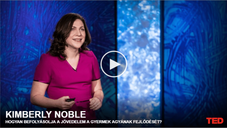 Kimberly Noble | Hogyan befolyásolja a jövedelem a gyermek agyának fejlődését?