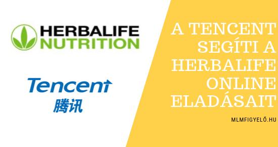 A Herbalife Nutrition együttműködik a Tencenttel, Kína vezető internetes és technológiai társaságával