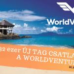 2019-ben 332 ezer új tag csatlakozott a WorIdVentures-hez