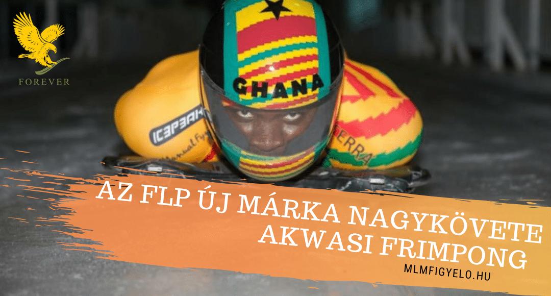 Az FLP szponzorálja az Olimpia Szekeleton versenyző Akwasi Frimpong-ot