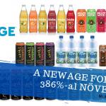 2019-ben a NewAge forgalma 386%-al emelkedett