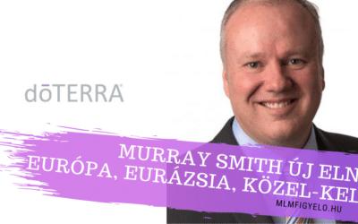 A doTERRA új Elnöke Murray Smith Európában, Eurázsiában és Közel-Keleten