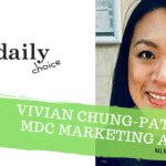 Vivian Chung-Patterson lett a MyDailyChoice Marketing Alelnöke