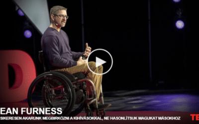 Dean Furness: Ha sikeresen akarunk megbirkózni a kihívásokkal, ne hasonlítsuk magukat másokhoz