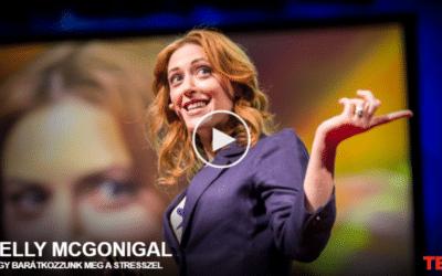 Kelly McGonigal: Hogy barátkozzunk meg a stresszel