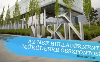 A NuSkin a hulladékmentes működésre összpontosít