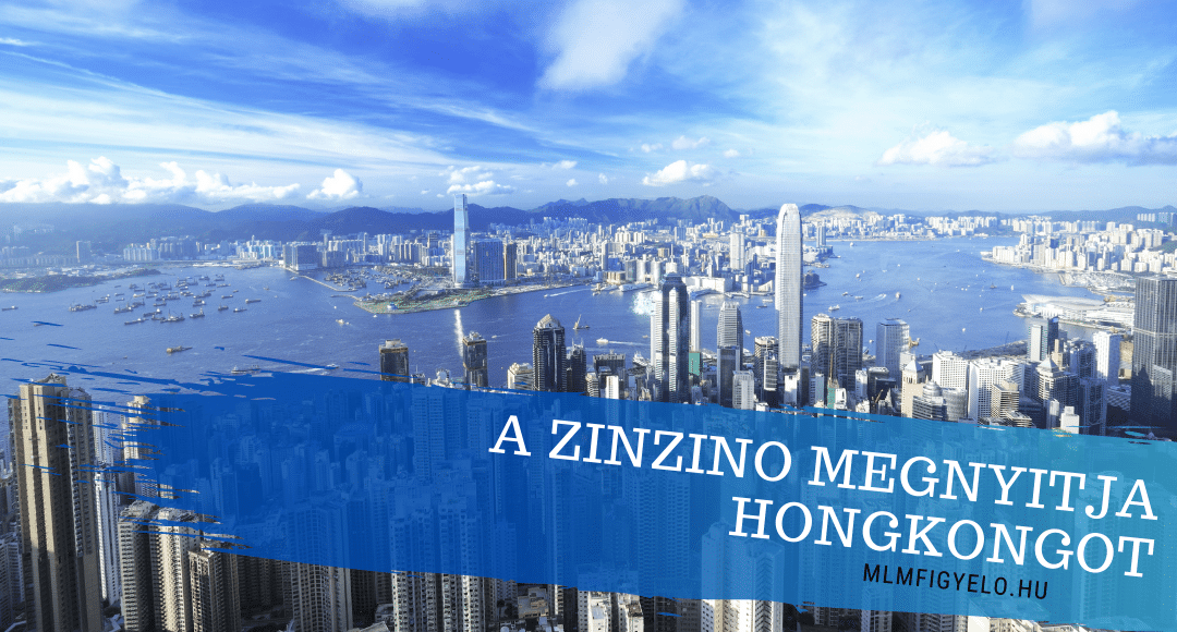 A Zinzino megnyitja Hongkongot