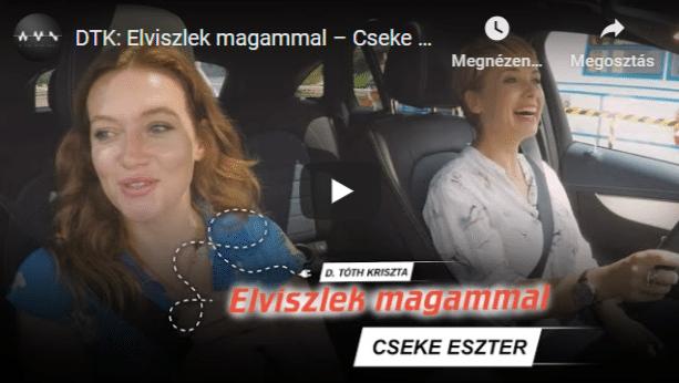 Cseke Eszter (On the Spot) – DTK Elviszlek magammal