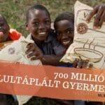 A NuSkin új mérföldkövet ért el a 700 millió étel adománnyal