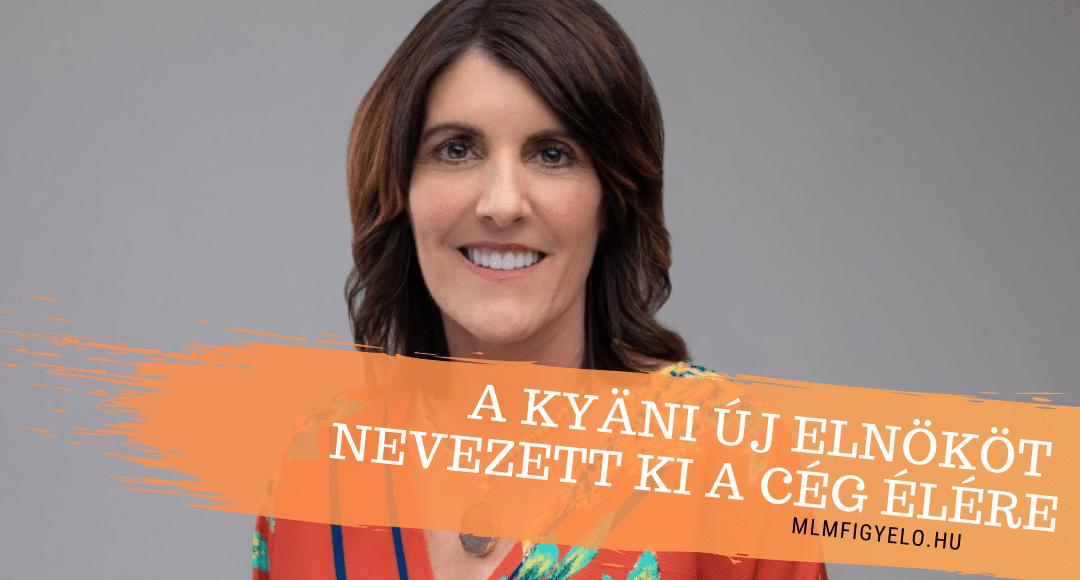 A Kyäni új elnököt nevezett ki a cég élére