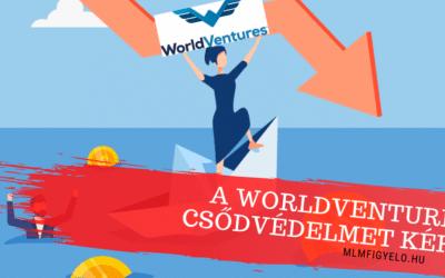 A WorldVentures csődvédelmet kért maga ellen