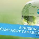 2020-ban a NuSkin 21 tonna műanyagot takarított meg