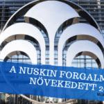 A NuSkin forgalma 7%-al növekedett 2020-ban