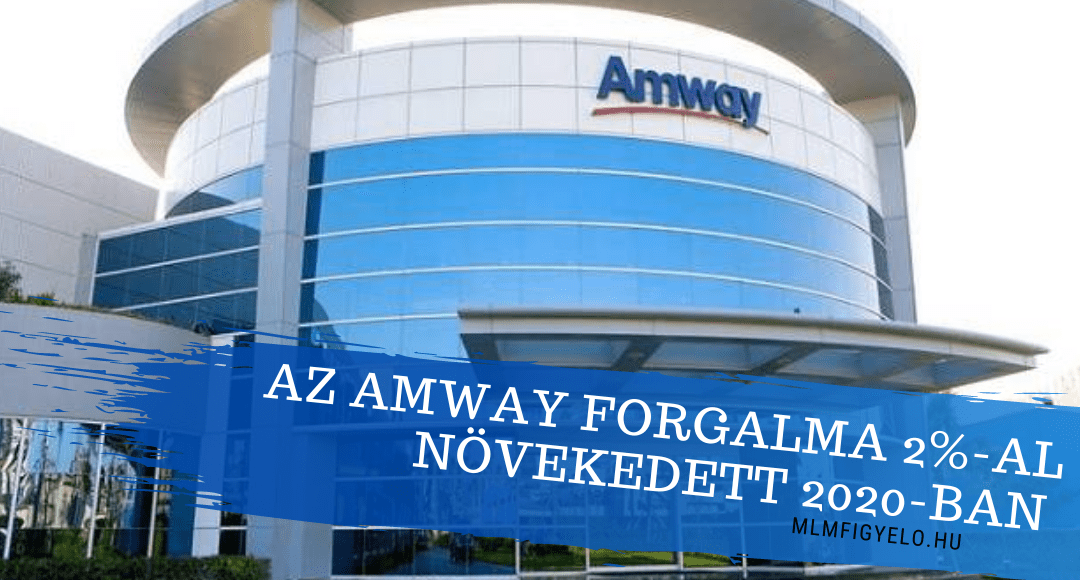 Az Amway forgalma 2%-al növekedett 2020-ban