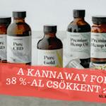 A Kannaway forgalma 38 %-al csökkent 2020-ban